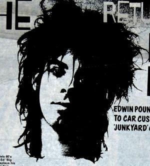 Nick Cave, Sounds Magazine, 1982, CROP