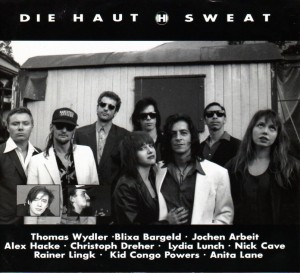Die Haut & Friends: Sweat Tour Group Shot 1992