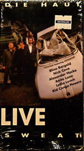 Sweat LIVE - Die Haut VHS Cover