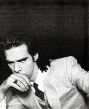 Nick Cave by Polly Borland, BOMB Issue 31, Spring 1990