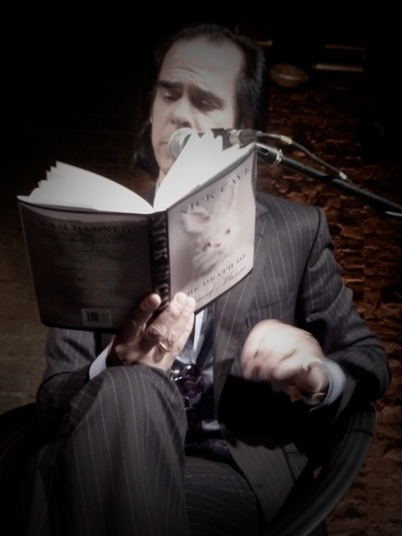 Nick Cave reading Bunny Munro, iTunes Festival, London, 2009-07-24