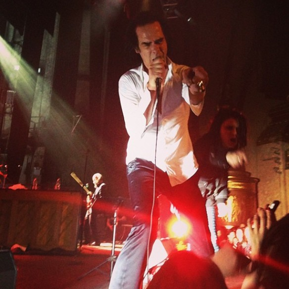 Nick Cave & the Bad Seeds, Beacon Theater, NYC March 28, 2013 (2)